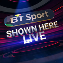 BT Sports (Shown Here Live)