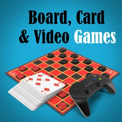 Board, Card & Video Games