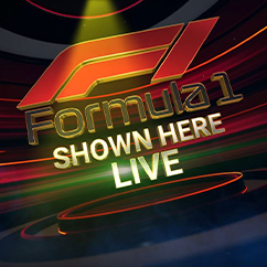 Formula 1 Shown Here Live