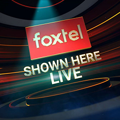 Foxtel Sports Shown Here Live