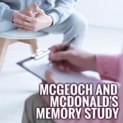 McGeoch And McDonald