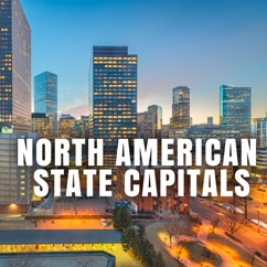 North American State Capitals
