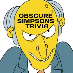 Obscure Simpsons Trivia