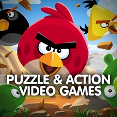 Puzzle & Action Video Games