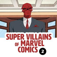 Super Villains of Marvel Comics